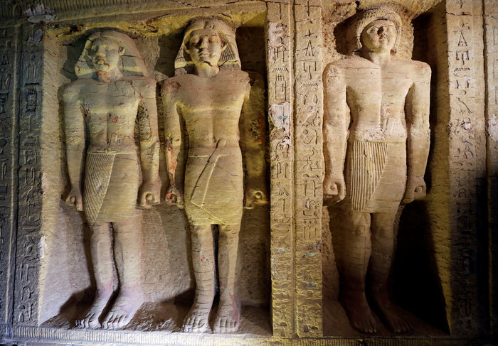 Σπουδαία ανακάλυψη τάφου 4.400 χρόνων στην Αίγυπτο - Εικόνες - εικόνα 3