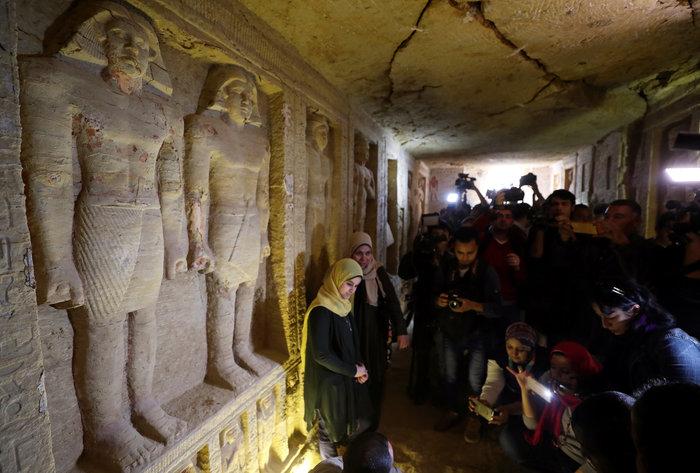 Σπουδαία ανακάλυψη τάφου 4.400 χρόνων στην Αίγυπτο - Εικόνες - εικόνα 6
