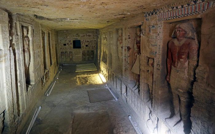 Σπουδαία ανακάλυψη τάφου 4.400 χρόνων στην Αίγυπτο - Εικόνες - εικόνα 11