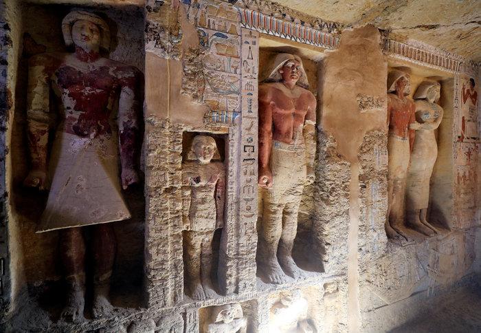 Σπουδαία ανακάλυψη τάφου 4.400 χρόνων στην Αίγυπτο - Εικόνες - εικόνα 9
