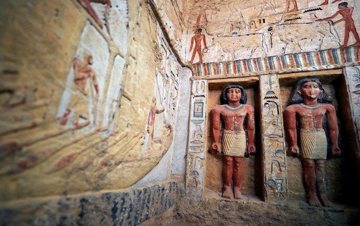 Σπουδαία ανακάλυψη τάφου 4.400 χρόνων στην Αίγυπτο - Εικόνες - εικόνα 8