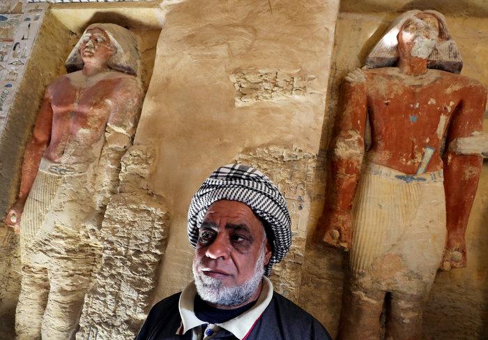 Σπουδαία ανακάλυψη τάφου 4.400 χρόνων στην Αίγυπτο - Εικόνες