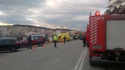 Λέσβος: Βουτιά αυτοκινήτου στο λιμάνι, εγκλωβίστηκε ο οδηγός