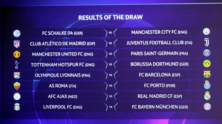Champions League: Δυνατές αναμετρήσεις στην κλήρωση των «16»