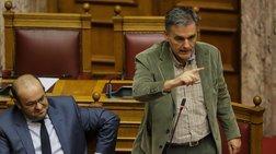 Κόντρα Τσακαλώτου-Γεωργιάδη στη Βουλή για το πλεόνασμα