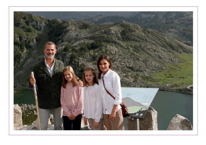 Η βασιλική οικογένεια της Ισπανίας έκανε την ανατροπή (εικόνα)
