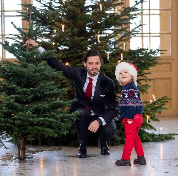 Το βασιλικό μωρό της Σουηδίας μοιάζει σαν μοντέλο διαφήμισης