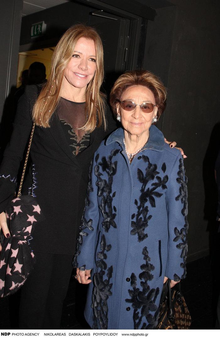 Η Μαριάννα Λάτση με την μητέρα της Εριέττα Λάτση