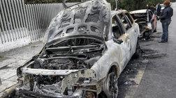 Εμπρησμός τεσσάρων αυτοκινήτων στη λεωφόρο Ηρακλείου