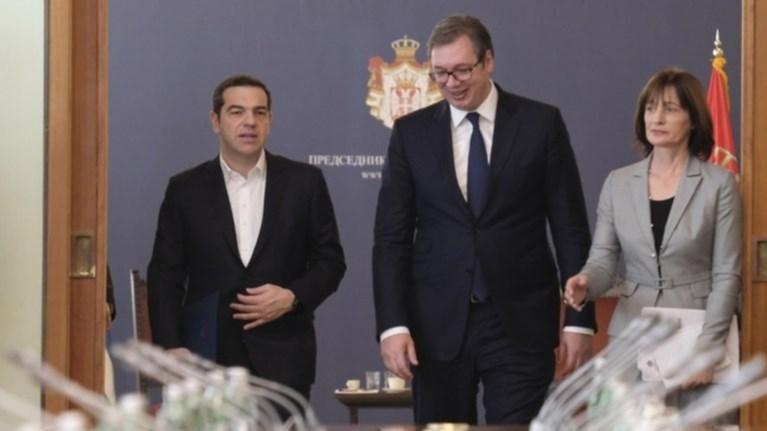 boutsits-se-tsipra-simantiki-gia-ti-serbia-i-sumfwnia-twn-prespwn