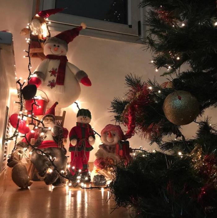 Χριστούγεννα στα στολισμένα σπίτια των Ελλήνων celebrities (εικόνες) - εικόνα 2