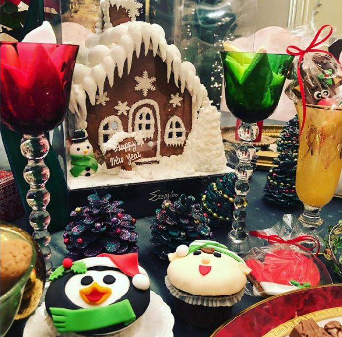Χριστούγεννα στα στολισμένα σπίτια των Ελλήνων celebrities (εικόνες) - εικόνα 8