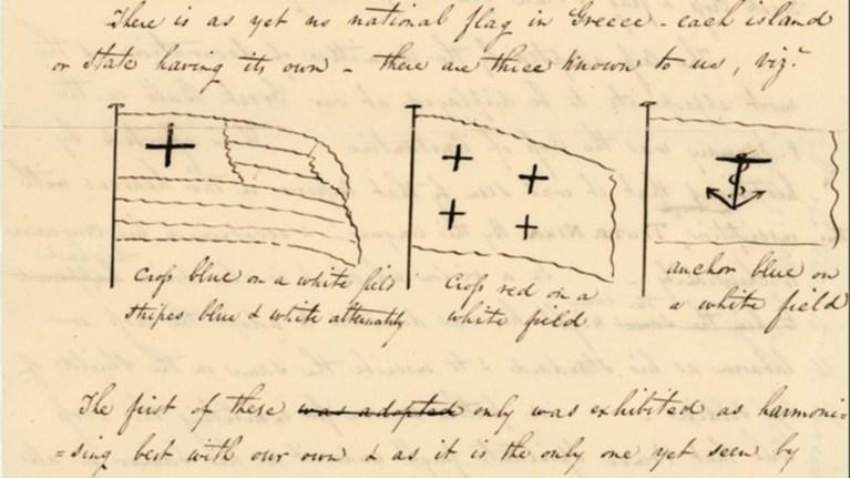 mia-elliniki-epistoli-tou-1824-apo-ti-nea-uorki-me-siniki-melani