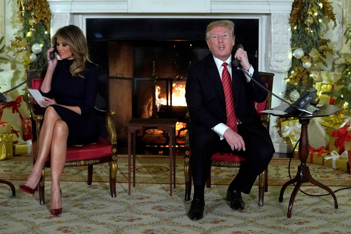 Γκάφα Τραμπ σε 7χρονο: Πιστεύεις ακόμα στον Άγιο Βασίλη;