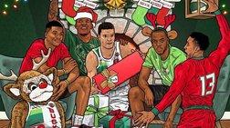 Οι ευχές των Μιλγουόκι Μπακς για τα Χριστούγεννα στα ελληνικά
