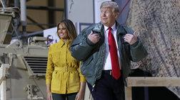 Επίσκεψη-έκπληξη Ντόναλντ Τραμπ και Μελάνια στο Ιράκ (φωτό)