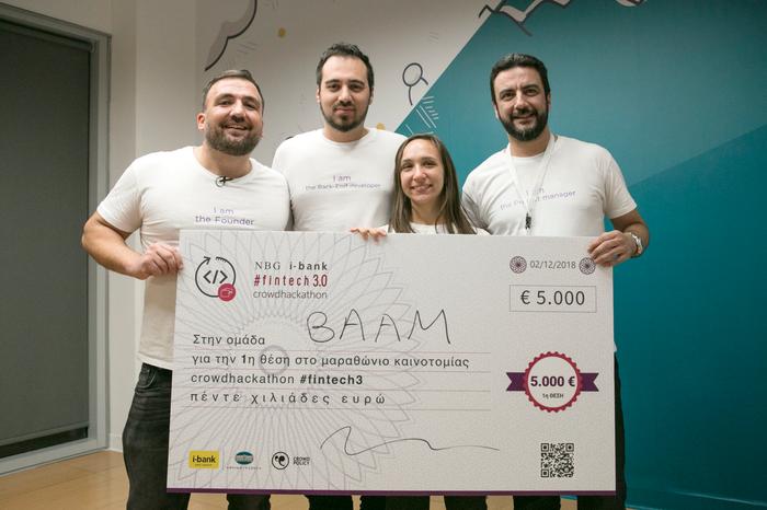 Αυτοί είναι οι νικητές του #fintech 3.0 Crowdhackathon