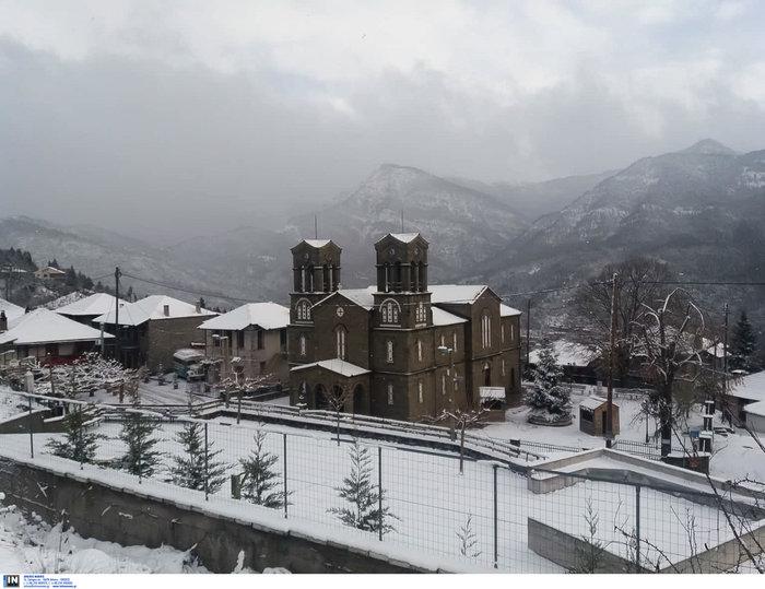 Έρχεται η «Σοφία»: Δριμύ ψύχος-Χιόνια σε Αττική & Θεσσαλονίκη - εικόνα 3