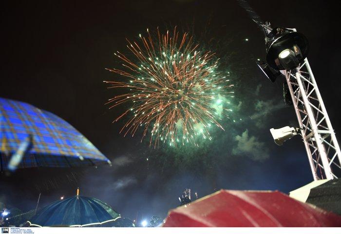 ΚΠΙΣΝ: Με μουσική και πυροτεχνήματα υποδέχθηκαν το 2019 - εικόνα 2