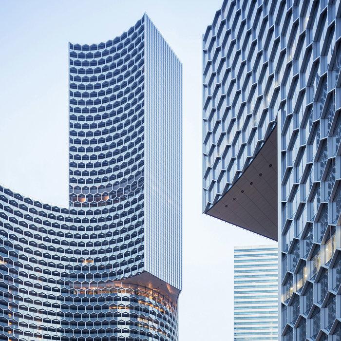Δίδυμοι ουρανοξύστες, Σιγκαπούρη, Büro Ole Scheeren