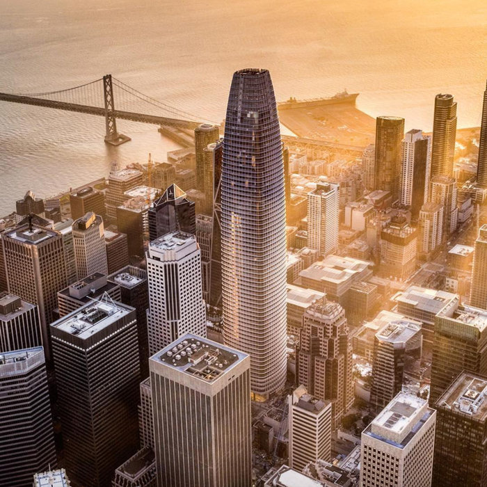 Salesforce Tower, Σαν Φραντσίσκο, USA, Pelli Clarke Pelli Architects