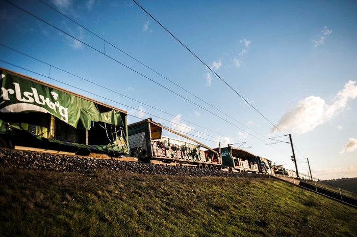 Σιδηροδρομικό δυστύχημα στη Δανία με πολλούς νεκρούς - εικόνα 2