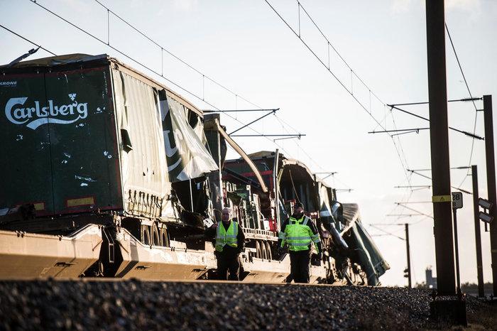 Σιδηροδρομικό δυστύχημα στη Δανία με πολλούς νεκρούς - εικόνα 3
