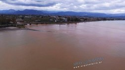 Καφέ η θάλασσα στη Νέα Κίο - Πλάνα από drone