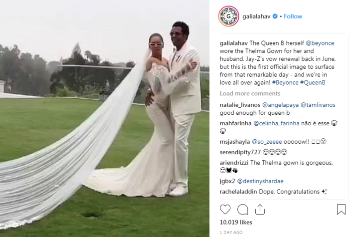 """Η Μπιγιονσέ αποκάλυψε το  haute couture νυφικό του """"δεύτερου"""" γάμου της"""