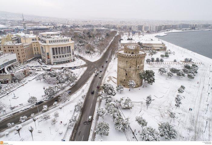 Πολικές θερμοκρασίες στη Βόρεια Ελλάδα με  -13 βαθμούς