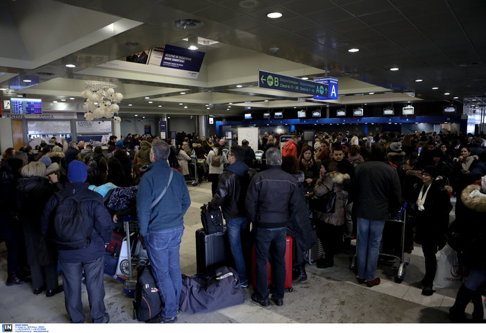 Fraport: Προς πλήρη αποκατάσταση οι πτήσεις στο αεροδρόμιο
