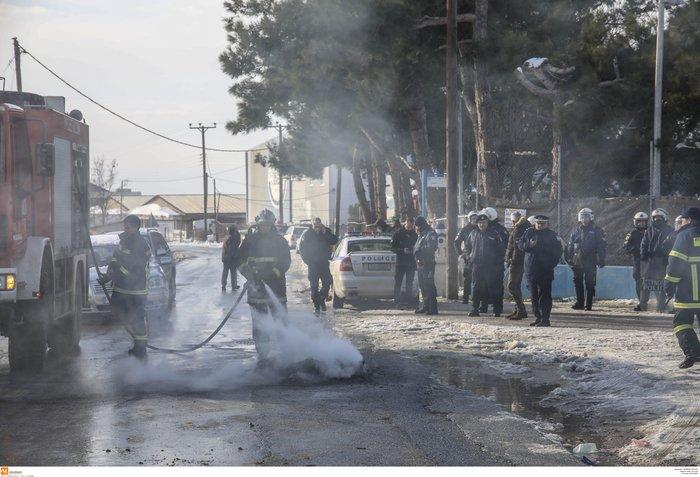 Διαβατά: Επεισόδια μεταξύ οδηγών και προσφύγων-Δύο τραυματίες