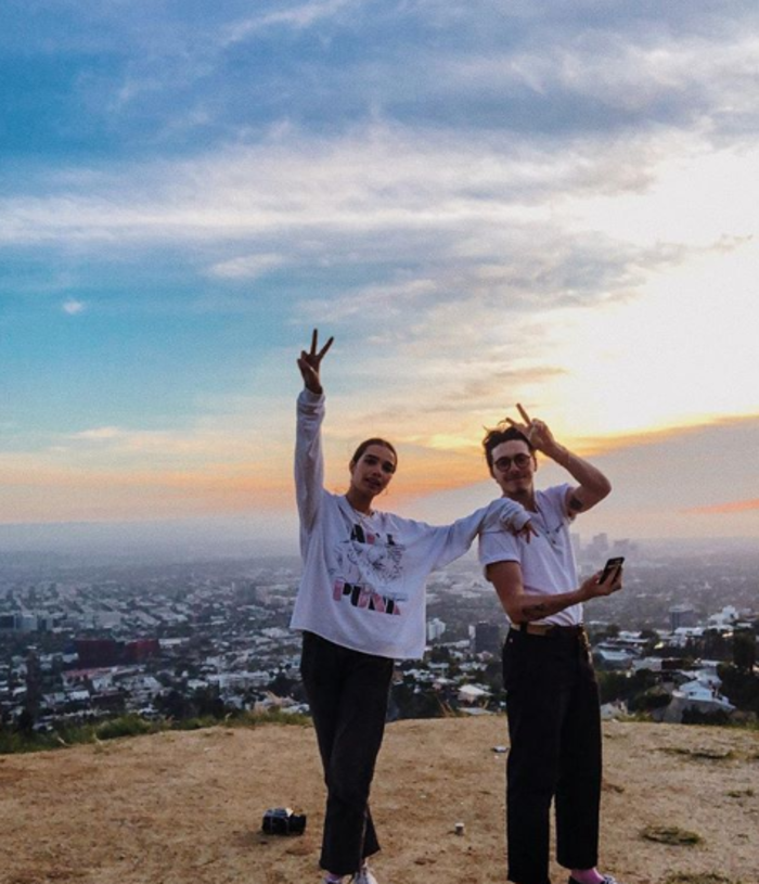 Ο Μπρούκλιν και η Χάνα ποζάρουν στο Instagram