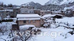 Θάνατος 72χρονου σε αποκλεισμένο από χιόνια χωριό στην Εύβοια