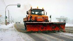 Σφοδρή χιονόπτωση στην Καβάλα - Εγκλωβίστηκαν οδηγοί