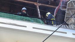 Η Πυροσβεστική απεγκλώβισε άνδρα από φλεγόμενο διαμέρισμα στα Κάτω Πατήσια