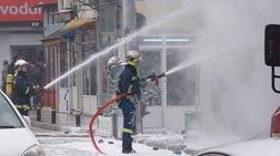 Έκρηξη φιαλών υγραερίου στην Κομοτηνή - Ένας τραυματίας