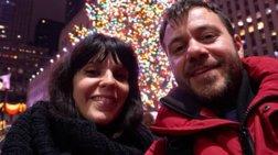 Ευτύχης Μπλέτσας: Πανευτυχής σε νέο ταξίδι με την εγκυμονούσα Ηλέκτρα