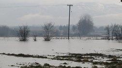 Πλημμύρισαν σπίτια και εκτάσεις στη Ροδόπη