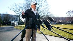 Τραμπ: Ακυρώνει το ταξίδι στο Νταβός λόγω shutdown
