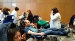 Συγκινητική η ανταπόκριση των πολιτών στην έλλειψη σε αίμα στα νοσοκομεία