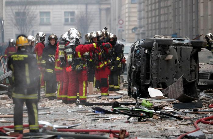 Ισχυρή έκρηξη στο κέντρο του Παρισιού, 36 τραυματίες - οι 12 σοβαρά