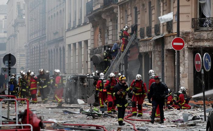 Ισχυρή έκρηξη στο κέντρο του Παρισιού, 36 τραυματίες - οι 12 σοβαρά - εικόνα 2