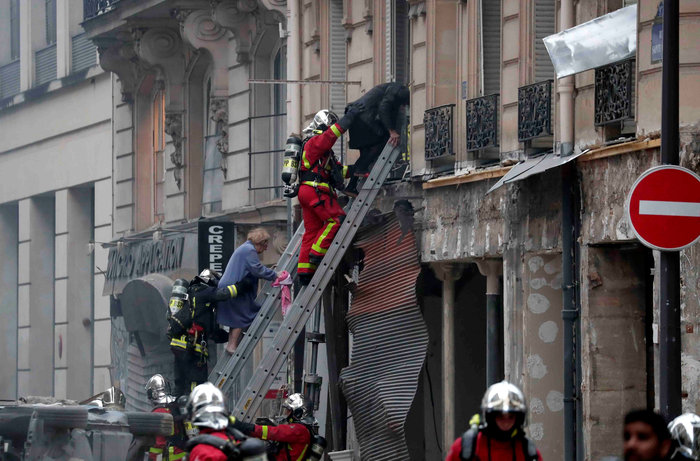 Ισχυρή έκρηξη στο κέντρο του Παρισιού, 36 τραυματίες - οι 12 σοβαρά - εικόνα 3