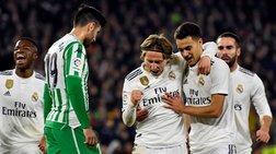 Λύτρωση στο τέλος για τη Ρεάλ Μαδρίτης