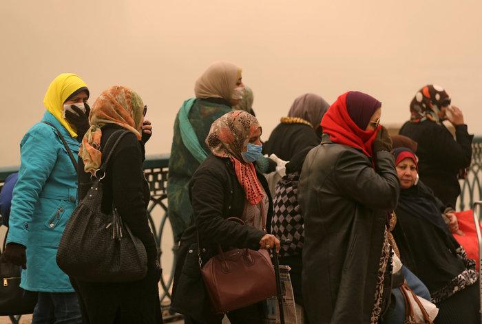 """Αίγυπτος: Πέντε νεκροί από αμμοθύελλα που """"σάρωσε"""" το Κάιρο"""