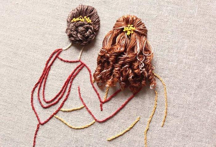 Εργα τέχνης με...τρισδιάστατα μαλλιά. Νέα τάση στους τεχνίτες της βελόνας - εικόνα 3