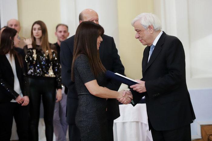 Βραβείο στη δημοσιογράφο Μαρία Παναγιώτου