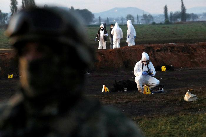 Μεξικό-φωτιά σε πετρελαιαγωγό: Στους 66 οι νεκροί