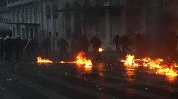 Συλλαλητήριο: Χημικά τραυματισμοί,  βανδαλισμοί, προσαγωγές και μια μήνυση
